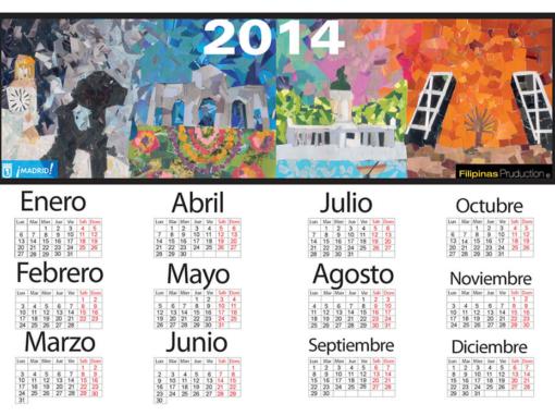 Calendario collage