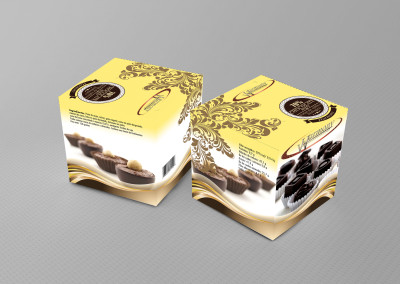 Packaging caja de bombones