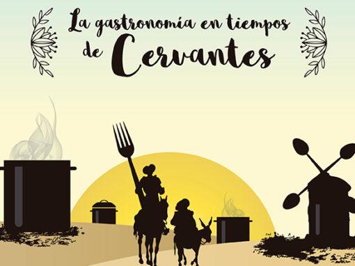 Portada del libro: Gastronomía en tiempos de Cervantes